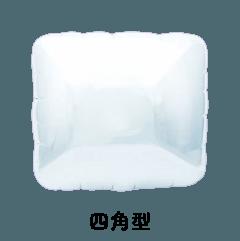 フィルム四角型風船