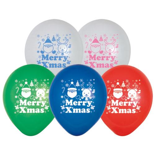 メリークリスマス風船