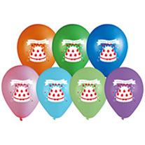 お誕生日ケーキ風船